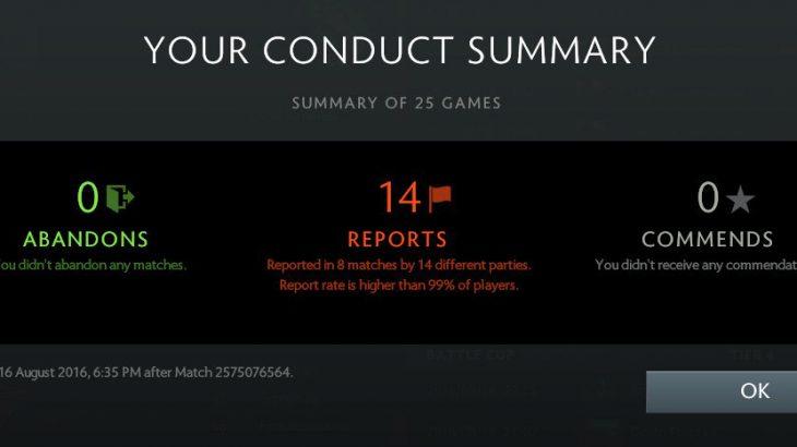 Steamの機能から通報されたゲームとその理由が見れるようになったぞ!