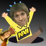NaviさんTI8のOpen Qualifierベスト32で無事沈没、なんでやDendi・・・