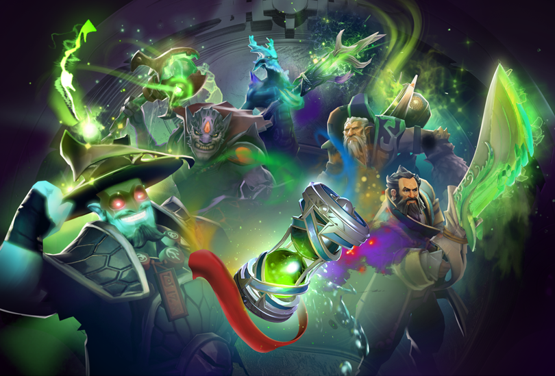 ti8バトルパスlv615のthe promise of eminent revival bundle preview