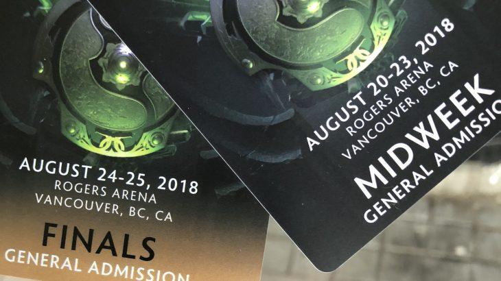 Vancouver 1日目 Dota2 The International 2018 Day0 現地観戦記 とよさん・・・編