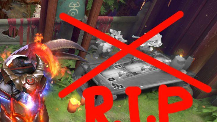 同接1000人を割ったArtifactのインゲーム宣伝オブジェが粛清される、Dota Auto Chessめ・・・