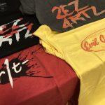 海外通販でEvil GeniusesのTシャツを購入しました、送料込みでもそんなに高くないしいいかも