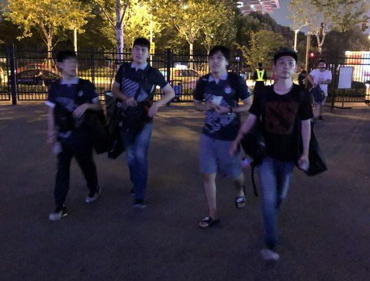 The International 2019 上海旅行 むじおと愉快な仲間たち(ENLIFE TM) Day1