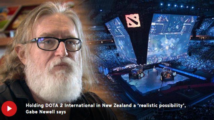 ValveのBOSS ゲイブニューウェルがニュージーランドを気に入った結果「Dota2 The International」や「CS:GO Major Championship」開催地候補に。Dota2はプレイしているしApexに興味あり